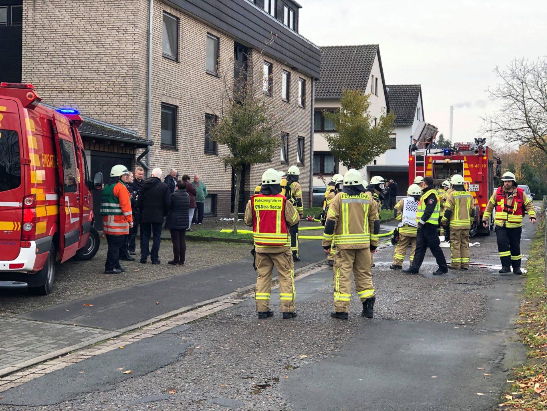 Samstag gab es einen Kellerbrand im Blumenauer Weg - Brand schnell gelöscht - Seelze City News - Seelze City News